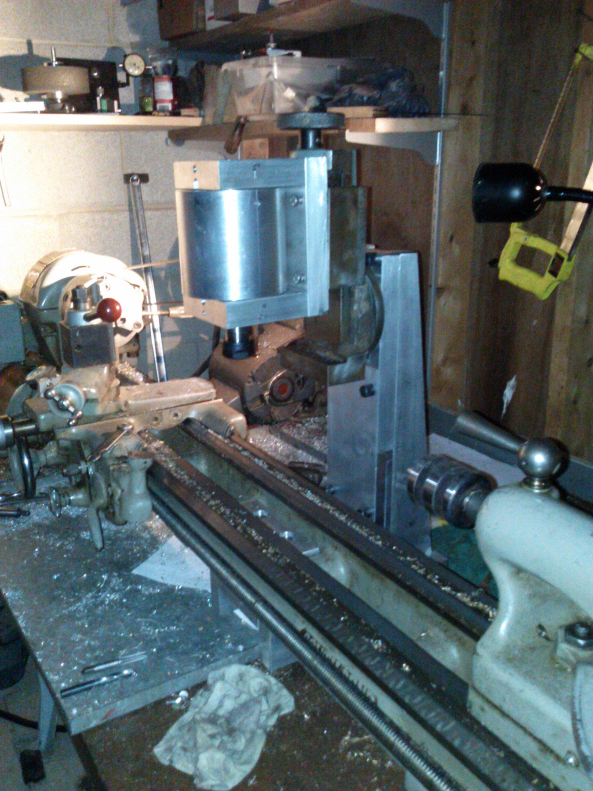 South Bend lathe milling attachment – Part V | Blackburn Tools