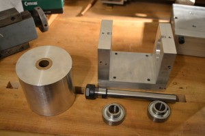 Milling head components.