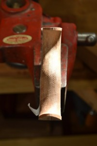 Both sides chamfered and blended to create a smooth profile.
