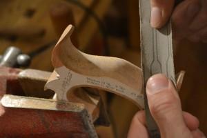 More detail sanding.