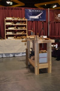 Blackburn Tools booth at 2013 WIA.