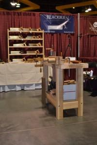 Blackburn Tools booth at 2013 WIA.