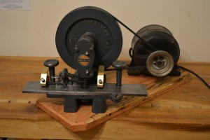 Another view of the toother and motor.