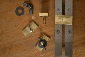 How the clamps work.