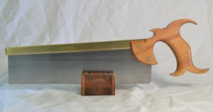Smith's Key carcase saw with apple handle.