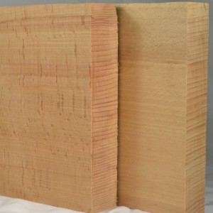 Quartersawn American beech saw handle blanks for backsaws and handsaws.