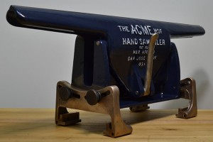 Acme Hand Saw Filer vise.